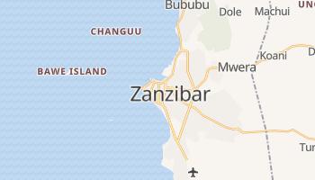 Mapa online de Zanzibar para viajantes