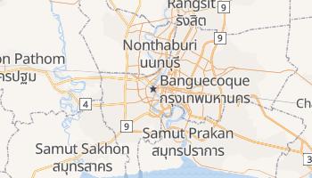 Mapa online de Banguecoque para viajantes