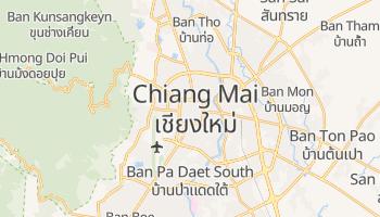 Mapa online de Chiang Mai para viajantes