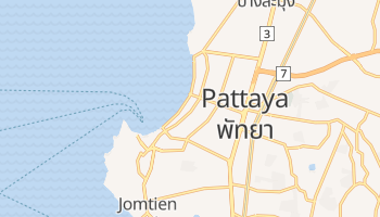 Mapa online de Pattaya para viajantes