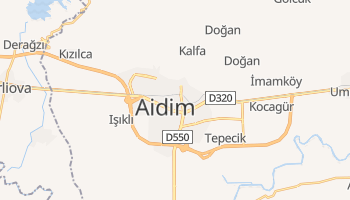 Mapa online de Aydın para viajantes