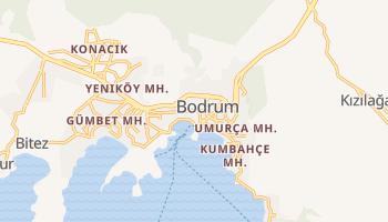 Mapa online de Bodrum para viajantes