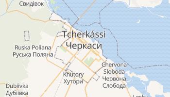 Mapa online de Tcherkássi para viajantes