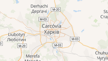 Mapa online de Carcóvia para viajantes