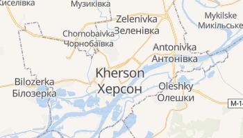 Mapa online de Kherson para viajantes