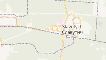 Mapa online de Slavutych para viajantes