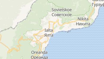 Mapa online de Ialta para viajantes