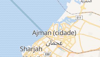 Mapa online de Ajman para viajantes