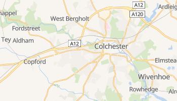 Mapa online de Colchester para viajantes