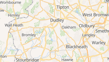 Mapa online de Dudley para viajantes