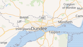 Mapa online de Dundee para viajantes