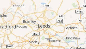 Mapa online de Leeds para viajantes