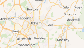 Mapa online de Oldham para viajantes