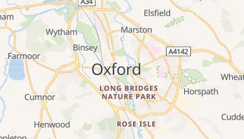 Mapa online de Oxford para viajantes