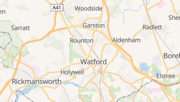 Mapa online de Watford para viajantes