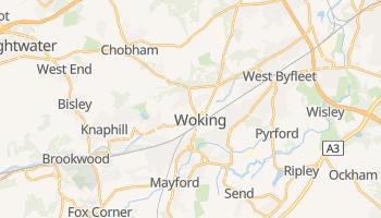 Mapa online de Woking para viajantes
