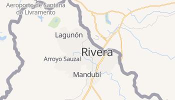 Mapa online de Rivera para viajantes