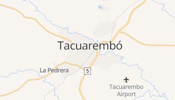 Mapa online de Tacuarembó para viajantes