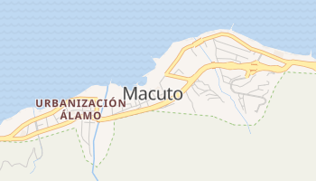 Mapa online de Macuto para viajantes