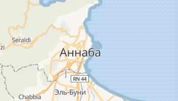 Аннаба - детальная карта