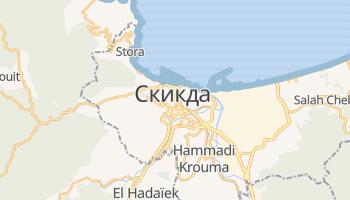 Скикда - детальная карта