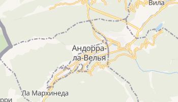 Андорра-ла-Вьеха - детальная карта