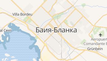 Байя-Бланка - детальная карта