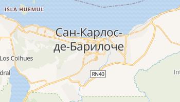 Сан Карлос де Барилоче - детальная карта