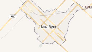 Чакабуко - детальная карта