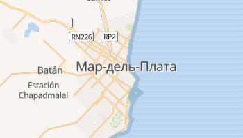 Мар-дель-Плата - детальная карта