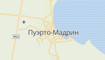 Пуэрто-Мадрин - детальная карта