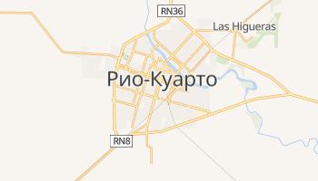 Рио-Куарто - детальная карта