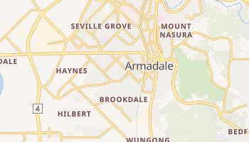 Армадейл - детальная карта