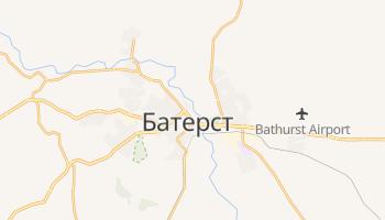 Батерст - детальная карта