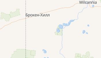 Брокен-Хилл - детальная карта