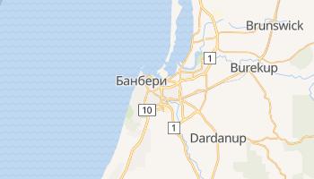 Банбери - детальная карта