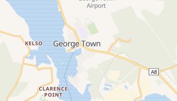 Джордж Таун - детальная карта