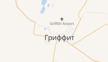 Гриффит - детальная карта