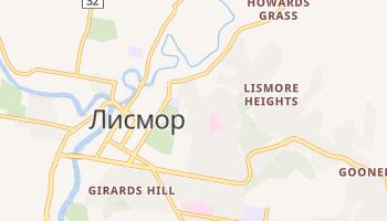Лизмор - детальная карта