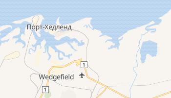 Порт-Хедленд - детальная карта