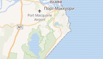 Порт Маккуори - детальная карта