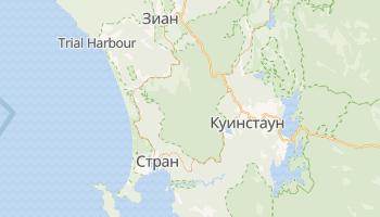 Страхан - детальная карта