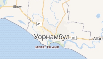 Уорнамбул - детальная карта