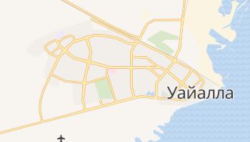Уайалла - детальная карта