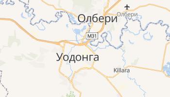 Уодонга - детальная карта