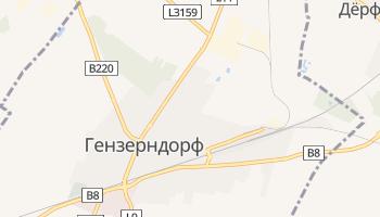 Гензерндорф - детальная карта
