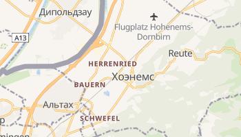 Хоэнемс - детальная карта