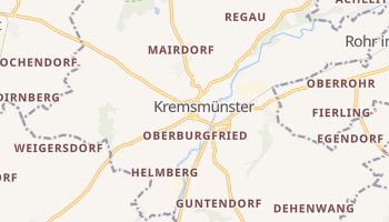 Кремсмюнстер - детальная карта