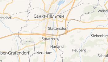 Санкт-Пёльтен - детальная карта