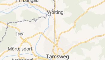 Тамсвег - детальная карта